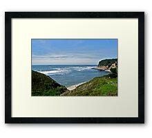 Northern California Coastline Framed Print