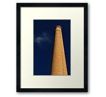 Smoke Stack Framed Print