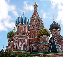 Saint Basil's Cathedral In Moscow by Svetlana Day