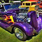 1934 Ford Coupe Convertible by Cecily McCarthy
