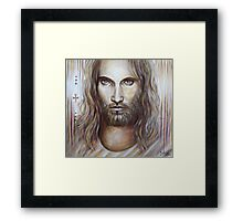 He Will Never Be Defeated Framed Print