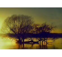 Sunrise at the Lake Photographic Print