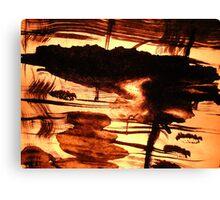 sunlit goddess...... inland isle reflections Canvas Print