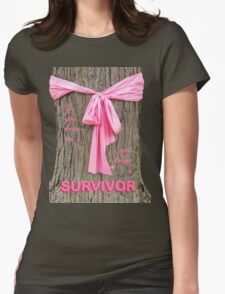 SURVIVOR: Breast Cancer Awareness Tee T-Shirt