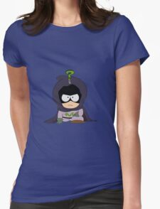 Mysterion Womens Fitted T-Shirt