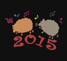 Dancing  2015 year of the sheep One Piece - Long Sleeve