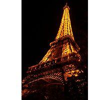 Golden Eiffel II Photographic Print