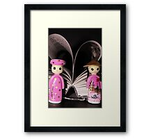 Little Adventures. - A picture is worth a thousand words. Framed Print