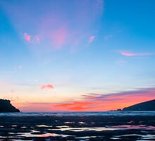 Sunset At Wonwell by Chriskeates