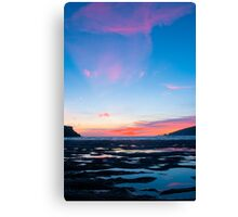 Sunset At Wonwell Canvas Print