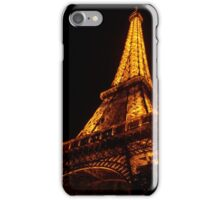 Golden Eiffel II iPhone Case/Skin