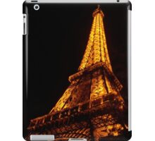 Golden Eiffel II iPad Case/Skin
