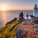 Start Point Lighthouse, South Hams, Devon. by Justin Foulkes