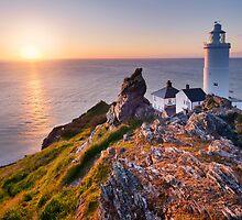 Start Point Lighthouse, South Hams, Devon. by Justin Foulkes