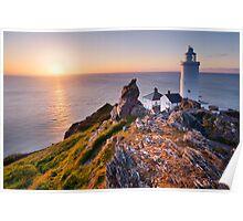 Start Point Lighthouse, South Hams, Devon. Poster