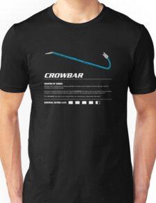 Zombie Weapons - Crowbar Unisex T-Shirt