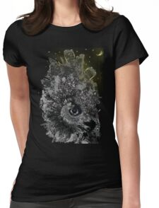 Good night Owl Cty Womens Fitted T-Shirt