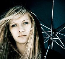 Umbrella Lady by PhotoJK