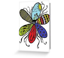 Coloured Dreams Greeting Card
