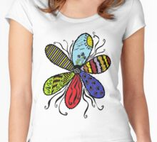 Coloured Dreams Women's Fitted Scoop T-Shirt