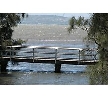Footbridge at Karoo Bay Photographic Print