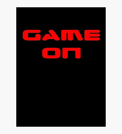 Game Over - Game On - Computer T-Shirt Photographic Print