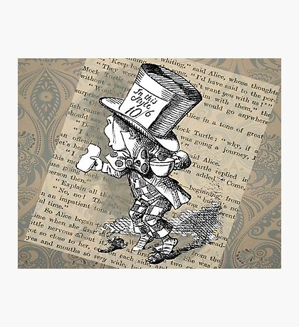 Hatter and Teacup  Photographic Print