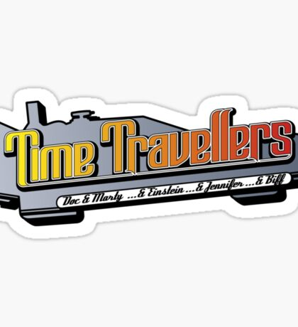 Time Travellers Sticker
