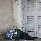 Poverty With Fake Levis, Ahmedabad, Gujurat, India by RIYAZ POCKETWALA