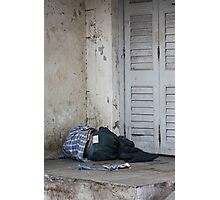 Poverty With Fake Levis, Ahmedabad, Gujurat, India Photographic Print