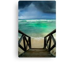 """""""Storm at the Spot"""" - West Island, Cocos (Keeling) Islands Canvas Print"""