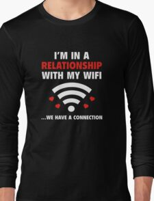 I'm In A Relationship Long Sleeve T-Shirt