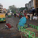 Off to work, Ahmedabad, Gujurat, India by RIYAZ POCKETWALA