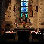 Le Mont Saint Michel Parish Church by James  Key