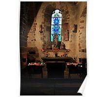 Le Mont Saint Michel Parish Church Poster