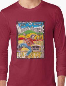 Ellis Paul's 2015 WoodyFest design Long Sleeve T-Shirt