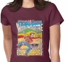 Ellis Paul's 2015 WoodyFest design Womens Fitted T-Shirt