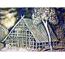 Hansel and Gretel's house Photographic Print