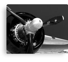 B-25 propeller Canvas Print