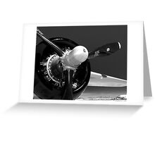 B-25 propeller Greeting Card
