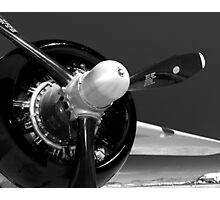 B-25 propeller Photographic Print