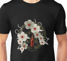 Pentacle and Candle Unisex T-Shirt
