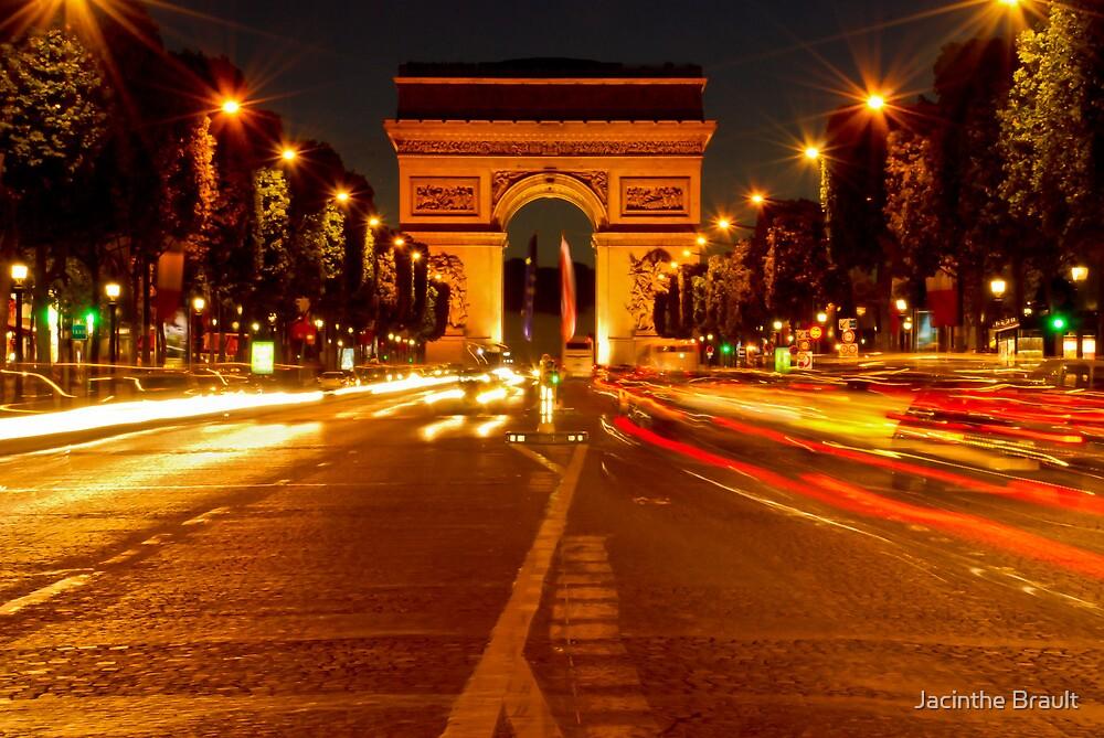 Arc De Triomphe (Paris, France) by Jacinthe Brault