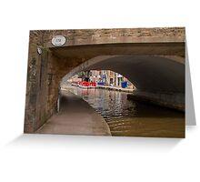 Skipton Bridge 178 Greeting Card