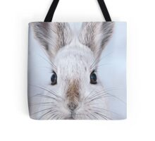 A Mad Hare Day / Snowshoe Hare Tote Bag