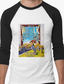 Ellis Paul's 2013 WoodyFest design Men's Baseball ¾ T-Shirt