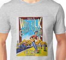 Ellis Paul's 2013 WoodyFest design Unisex T-Shirt