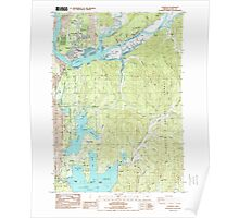 USGS Topo Map Oregon Florence 279901 1984 24000 Poster