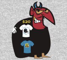 usa boston devil  tshirt by rogers bros by usaboston