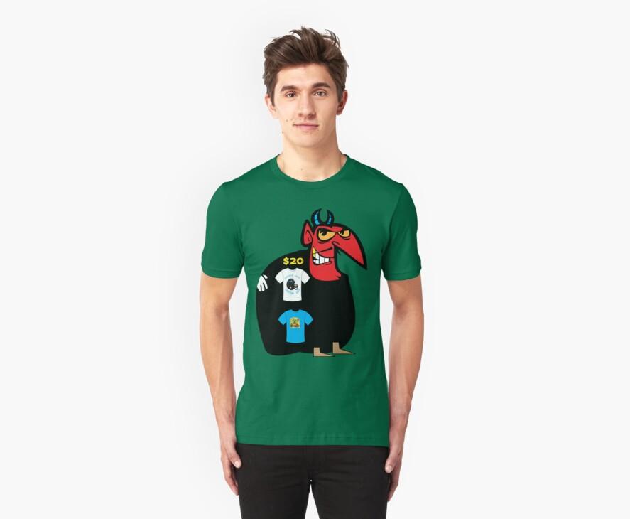 devil tshirt by rogers bros by usawashington